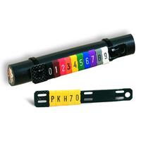 PARTEX彩色線號管,PK型號