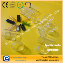 Electronic cigarette atomizer glass bin
