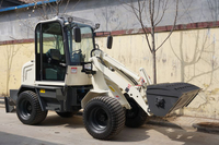 newest mini loader ZL08,CE small loader with some attachments