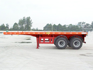 2 Axle 20T Container Chassis Semi Trailer