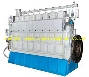 800HP-1500HP Zichai medium speed marine diesel engine (8210ZLCZ)