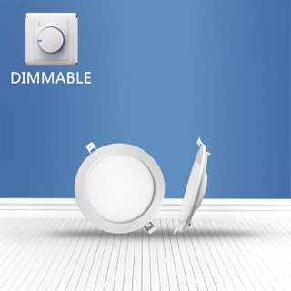 Dimmable Round recessed Panel Light 8W
