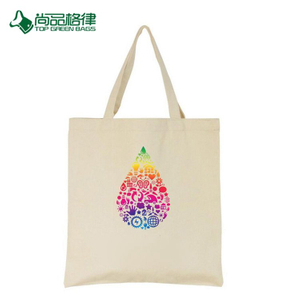 High Quality Custom Printing Promotional Cotton Canvas Shopping Bags