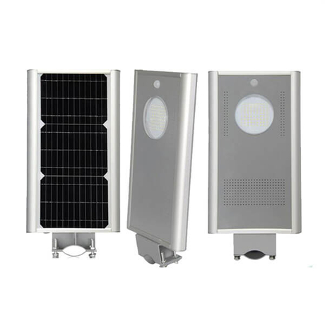 All in one solar led street with motion sensor