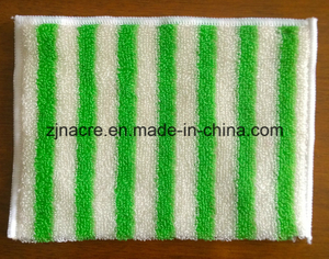 Microfiber Multipurpose Green Bamboo Cleaning Cloth