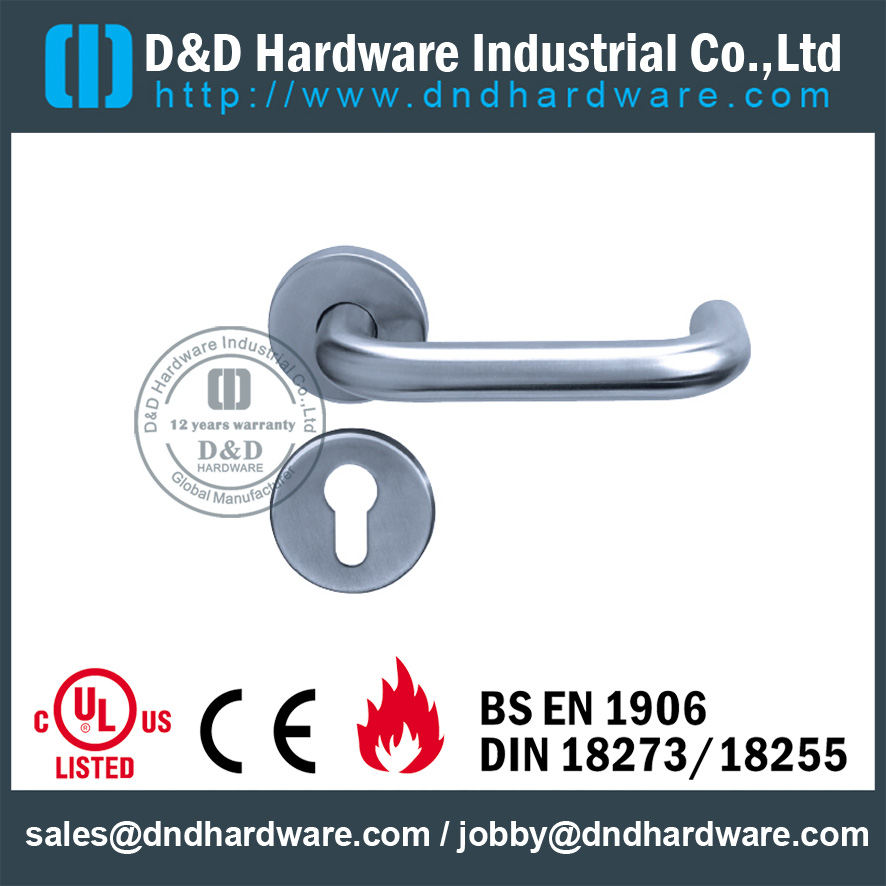 DDTH001 Stainless steel lever tube handle