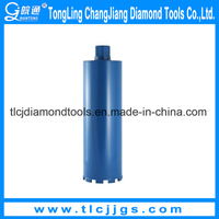 Brazed Reinforced Concrete Diamond Bit with High Quality