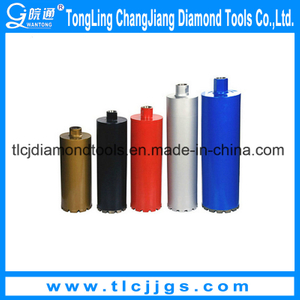 Vacuum Brazed Drill Bit for Drilling Reinforced Concrete