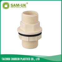 CPVC tank coupling for water supply Schedule 40 ASTM D2846