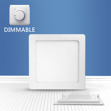 Dimmable Square recessed panel light 20W