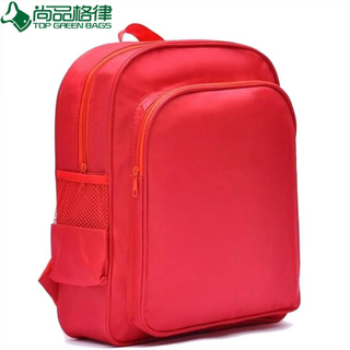 Fashion Red Student Backpack School Rucksack (TP-BP173)