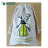 Organic Cotton Canvas Bag with Double Cotton Drawstring Pouch