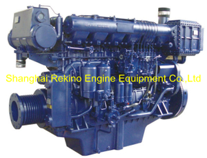540HP 1200RPM Weichai medium speed marine diesel engine (X6170ZC540-2)