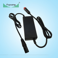 DC 12V/24V input car charger 12.6V 3A for li-ion battery