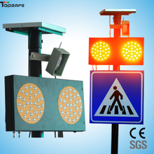 Solar LED Moving(infrared) sensor pedestrian sign