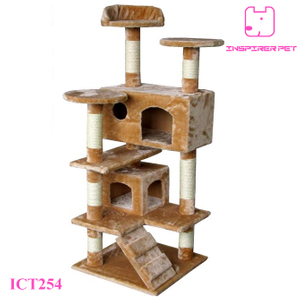 130cm Cat Condo Furniture Colorful Cat Tree
