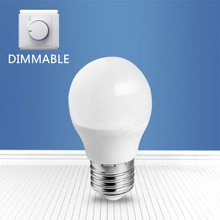 dimmable A3-G45 6W E27 LED bulb