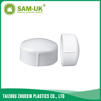 PVC threaded cap for water supply BS 4346