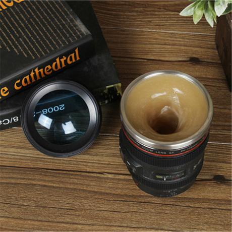 六代镜头搅拌咖啡杯