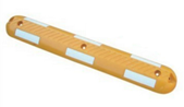 Rubber Traffic Road Lane Divider / Lane Divider Kerb Separato