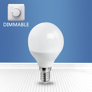 dimmable A3-G45 6W E14 LED bulb