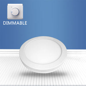 Dimmable Round surface mounted panel light 8W