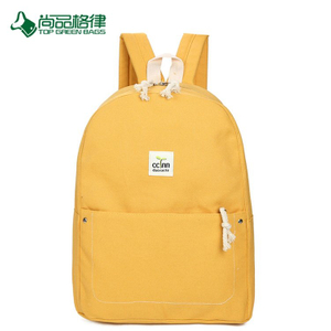 China Simple Wholesale Cheap Durable Multi-Pocket Waxed Canvas Travel Backpack Bags