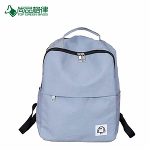 Simple Large Capacity Style Polyester School Backpacks Bags For Girls And Boys Wholesale