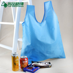 Wholesale cheap tote polyester shopping bag foldable tote shopping bag (TP-FB207)