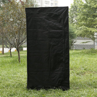 PVC grow tent for hydroponics