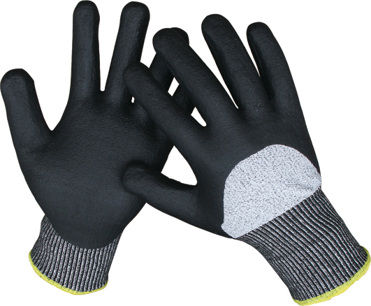 NITRILE FOAM CUT RESISTANCE GLOVES