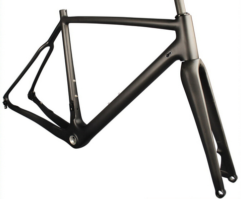 DISC BRAKE CYCLOCROSS CARBON BIKE FRAME THROUGH AXLE DROPOUT
