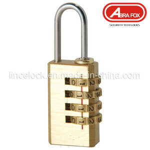 Padlock, Brass Combination Padlock