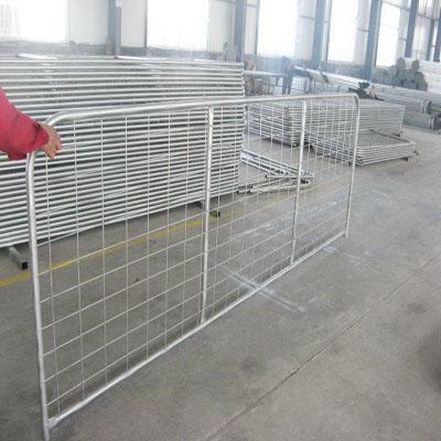 Welded Mesh Type Farm Sheep Gate Vertical Brace Gate