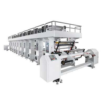 ZRAY-D High Speed 7 Motor System Computer Rotogravure Printing Machine