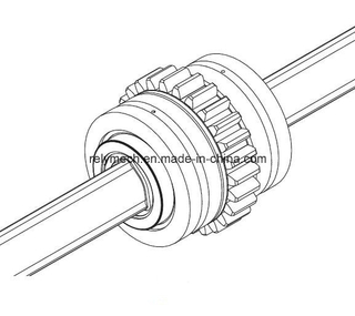 Lbg Ball Spline/Linear Motion Spline/Linear Ball Spline with Gear Teeth