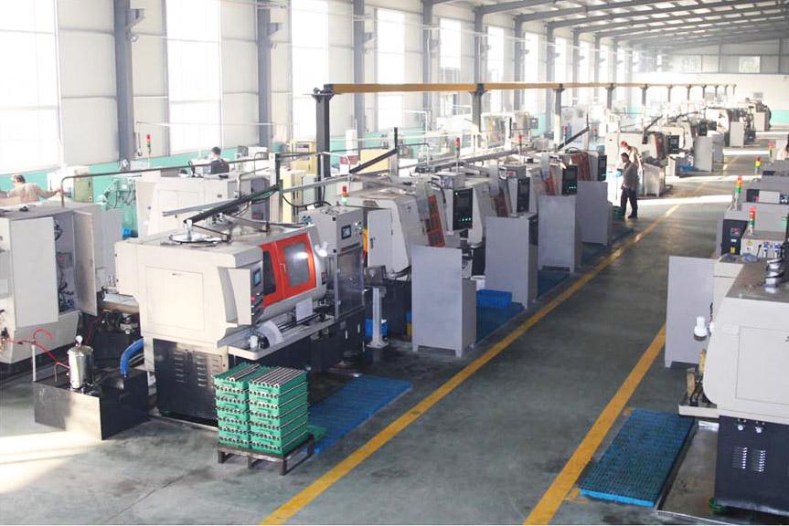 Rings grinding workshop