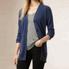 Women's spring autumn long cashmere knitted cardigan sweater