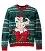 PK1828HX Ugly Christmas Sweater Men's Gift of Gains