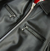 P18E017BW latest hot sale fashion custom genuine leather jacket for men all seansons