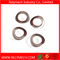 Curved Single Coil Spring Lock Washers