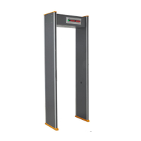 Multi Zone Walk Through Metal Detector