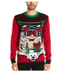 PK1818HX Men's Ugly Christmas sweater with Light-up Led