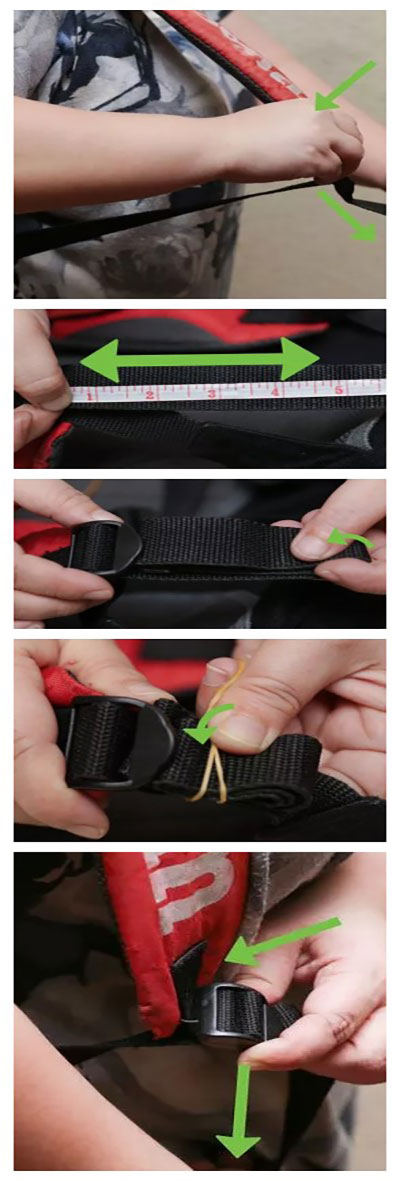 How to shorten the Straps of best backpack cooler