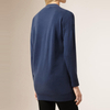 P18B192BE women's spring autumn long cashmere thin knitted cardigan sweater