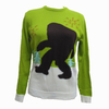 Wholesale Lovely Ugly Acrylic Monkey Man Christmas Sweater