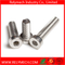 Stainless Steel Hex Socket Thin Head Cup Head Bolt Machine Screw M3-M10