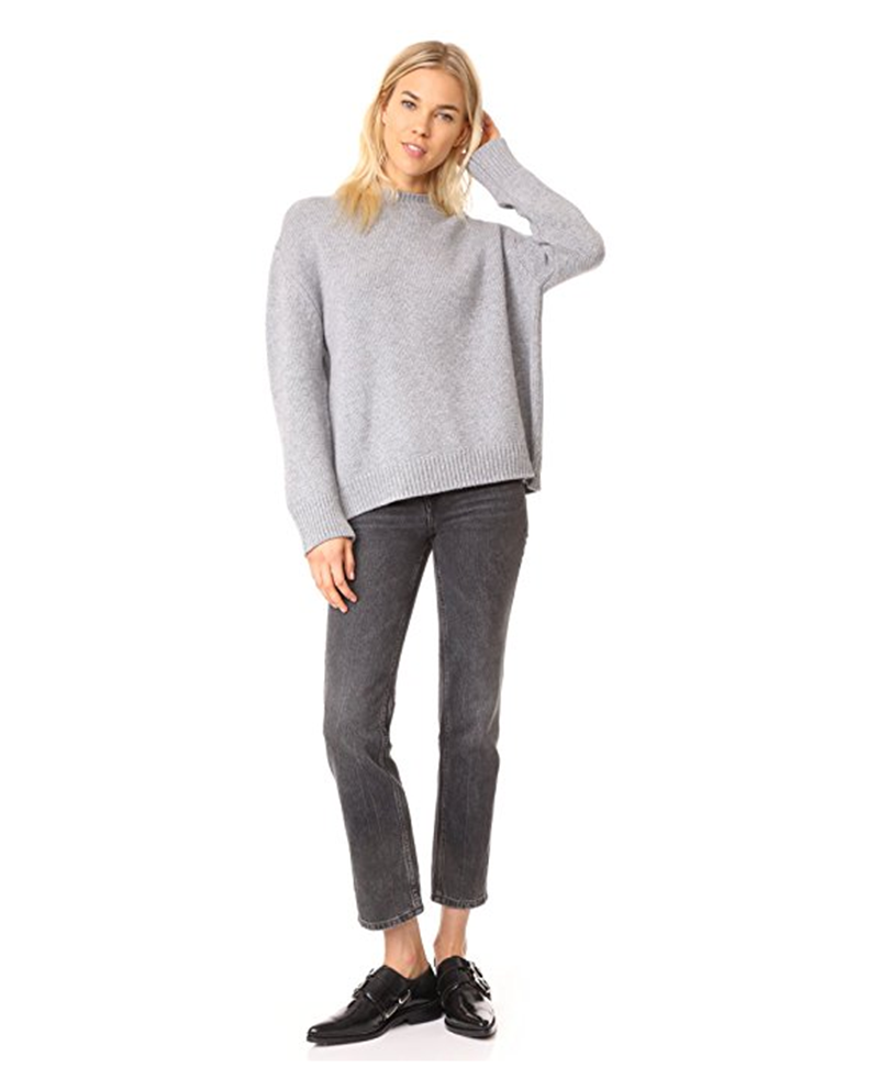 PK18A80HX Women's Cashmere Knit Sweater