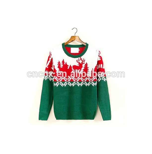 15CS0025 2017 Man winter casual thick christmas sweater