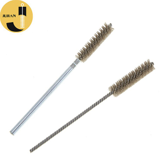 T28 Tube Cleaning Brush with Zinc-Plating Shaft